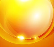 Sunshine orange background Royalty Free Stock Photography