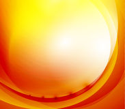 Sunshine orange background Stock Photography