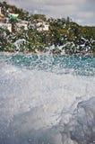 Sunshine at Phuket Beach Thailand. Veiw of ocean of Thailand stock images