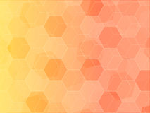 Sunshine polygon background pattern art Stock Image