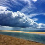 Sunshine or Rain Royalty Free Stock Photography