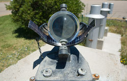 Sunshine recorder detail Stock Photos