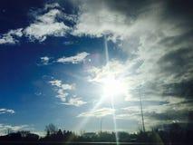 Sunshine. Refreshing sunshine in the morning Royalty Free Stock Photos
