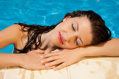 Sunshine relaxation Royalty Free Stock Photo