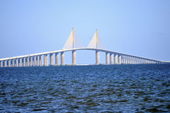 Sunshine Skyway royalty free stock photo