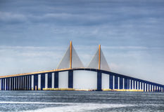Sunshine Skyway Royalty Free Stock Photos