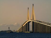 The Sunshine Skyway Bridge Stock Photography