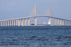 Sunshine Skyway Bridge Stock Photo