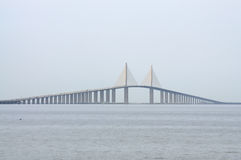 Sunshine Skyway Bridge, Florida Royalty Free Stock Photography