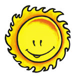 Sunshine smile Stock Image