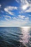 Sunshine in summertime Stock Photo