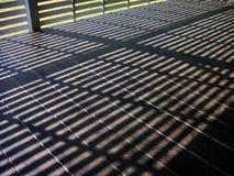 Sunshine terrace, sunshine floor. Wood Royalty Free Stock Photos