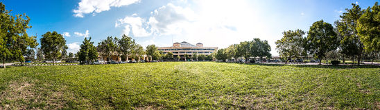 The Sunshine of University Royalty Free Stock Photos