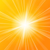 Sunshine vector background Stock Photo