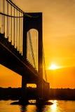 Sunshine on the Verrazano Stock Image