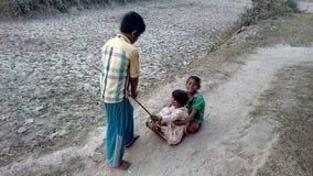 Sunshine. Village vehicle Bangladesh Stock Photos