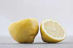 Sunshine yellow lemons Royalty Free Stock Photos