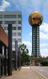 Sunsphere на парке Ноксвилле Теннесси всемирнаяа ярмарка Стоковая Фотография RF