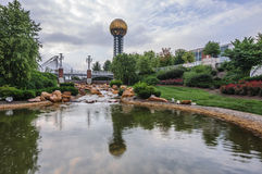The Sunsphere, in Knoxville, Tennessee Stock Image