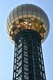 Sunsphere torn i Knoxville, Tennessee Royaltyfri Fotografi