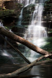 SunSplashed Waterfall Stock Images
