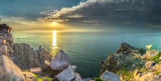 Sunstar on Vung Ro Bay Royalty Free Stock Photo