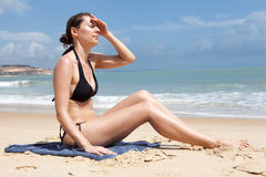 Sunstroke royalty free stock images