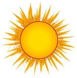 Sunsunrays-Klipp-Kunst oder Zeichen lizenzfreie abbildung