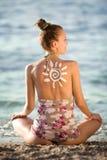 sunsymbol royaltyfri foto