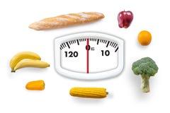Sunt banta, äta för ätamat för sund mat ren vegetabl för hälsa arkivbilder