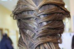 sunt härligt hår Arkivfoto