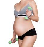 sunt havandeskap arkivbilder