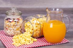 Sunt och läckert mål, ideal för frukost royaltyfri fotografi