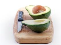 sunt tropiskt för avokadomatfrukt Arkivbild
