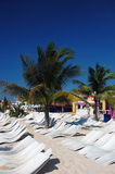 Suntan in the Caribbean Stock Photography