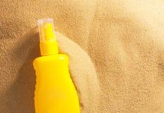 Suntan lotion Stock Photos