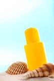 Suntan lotion Royalty Free Stock Image