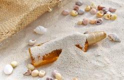 Suntan to the beach Stock Photos