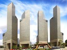 Suntec stad, Singapore Arkivfoto