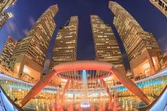 SUNTEC-STAD, SINGAPORE - mars 26 Arkivbilder