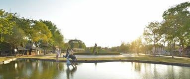 Sunthorn在Rayong,泰国的phu memorail 免版税库存图片