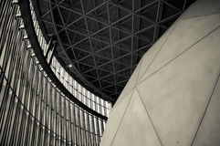 Suntory Museum. The museum is designed by Tadao Ando, a Japanese architect Stock Photo
