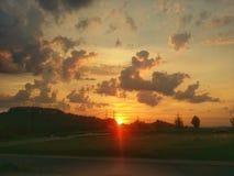 sunup fotos de archivo