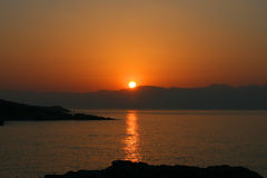 Free Sunup In Sarti Stock Photography - 9822622