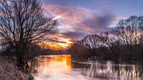 Sunup zorza zdjęcie royalty free