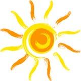 sunvektor Arkivfoton