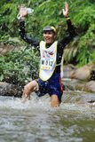 Sunvo Untimate Adventure Challenge 2015. Chiang Rai, Thailand - October 23, 2015: Sunvo Untimate Adventure Challenge 2015. A wilderness adventure racing through Stock Photo