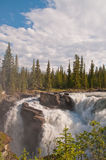 Sunwapta Falls Royalty Free Stock Photo