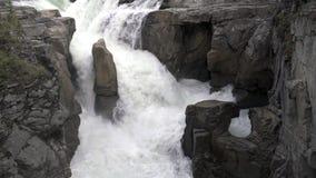 Sunwapta Falls, Jasper National Park, Alberta 4K UHD filme