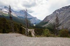 Sunwapta Pass- Jasper National Park- Alberta- Canada Stock Images